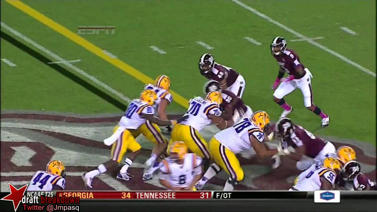 Jeremy Hill vs Mississippi State (2013)