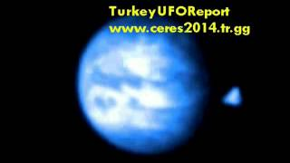 CERES and Triangle UFO-New Version-Special Colored-3D