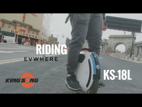 KS-18L Riding EVWHERE In NYC EUC