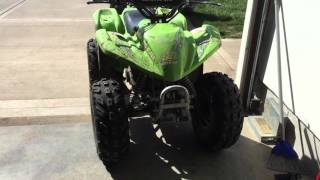 2. 2005 Arctic cat 90 walk around and startup!!