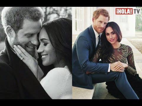 Fotos de amor - Fotos oficiales del compromiso de Meghan Markle y el Príncipe Harry  La Hora ¡HOLA!