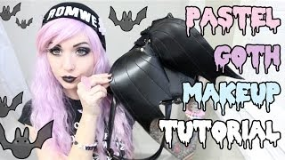 In this tutorial, I'll show you how to get a really cute pastel goth look! Pastel goth is one of my favorite styles. I love the mix of ...