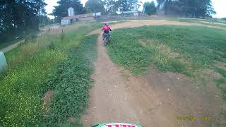 8. 2018 CRF 150RB ripping it up at Liams MX track