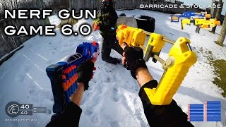 Nerf meets Call of Duty: Gun Game 6.0 | First Person in 4K!