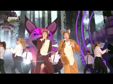 The fox hát live tại Hàn Xẻng, quá đỉnh ! :D