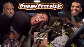DRAKE - Duppy Freestyle (PUSHA T & KANYE WEST DISS) REACTION