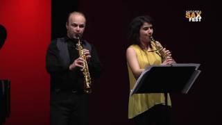 CONCERT VINCENT DAVID & TAKAHIRO MITA Andorra Sax Fest 2016