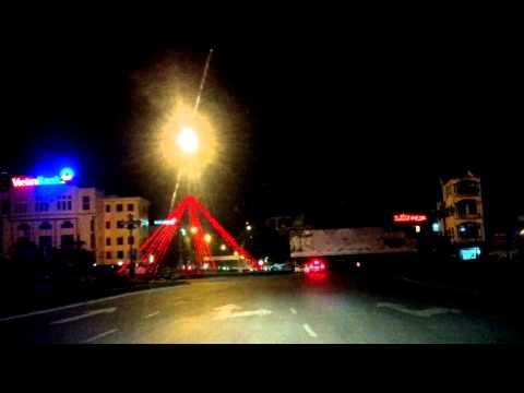 Thành phố Hưng Yên về đêm