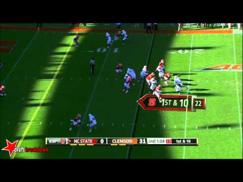 Vic Beasley vs North Carolina St. 2014 video.