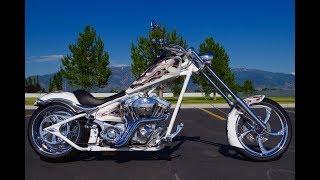 3. FOR SALE 2010 BIG DOG K9 CUSTOM SOFTAIL CHOPPER MOTORCYCLE 2,301 MILES! Harley Davidson! $19,987!