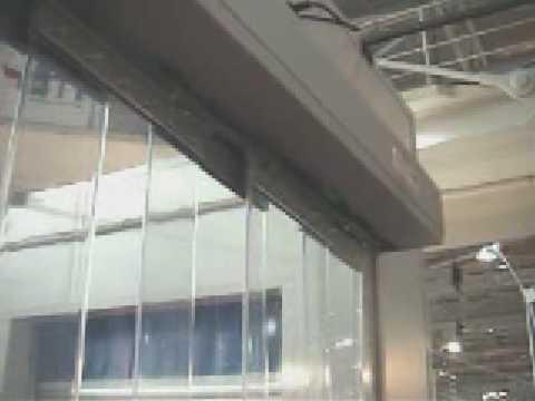 Auto BiFlex PVC door