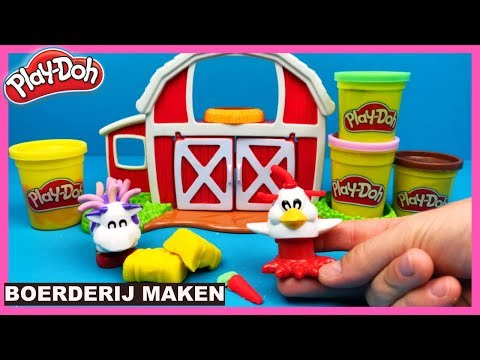 Play Doh Fuzzy Friends Farm speelset | Family Toys Collector