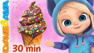Video 🍨The Ice Cream Song | Baby Songs and Nursery Rhymes | Dave and Ava🍨 MP3, 3GP, MP4, WEBM, AVI, FLV April 2019