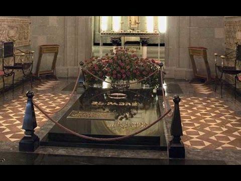 Den salige Álvaro i Santa Maria della Paces krypta