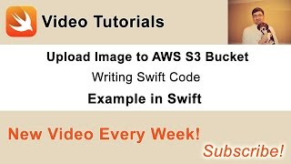 In this video we will write Swift code to upload image to AWS S3 bucket. Source code and other videos you can find in this blog post of mine: http://swiftdeveloperblog.com/upload-image-to-aws-s3-bucket-in-swift/