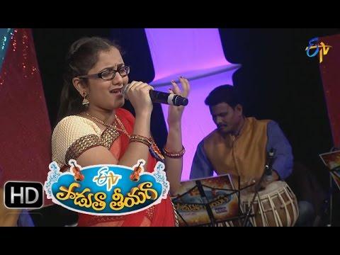 Sakhiya-Vivarinchave-Song--Priya-Performance-in-ETV-Padutha-Theeyaga--21st-March-2015