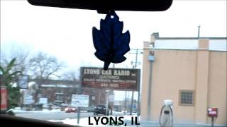 Lyons (IL) United States  City pictures : Time Lapse (Lyons, IL to Rosemont, IL 2/09/13)