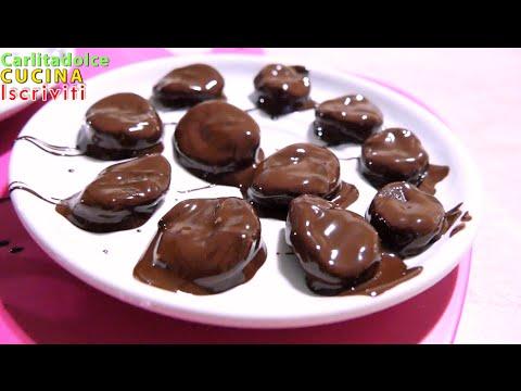 cioccolatini light - ricetta velocissima