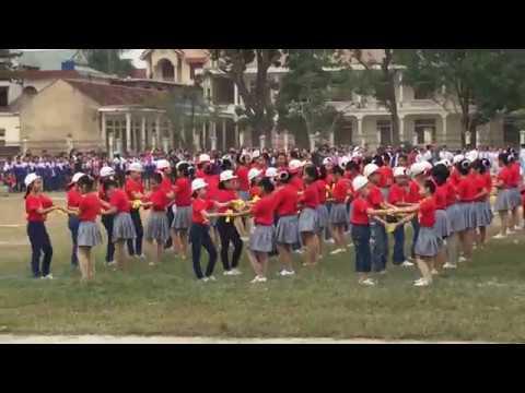 Khai mạc Hội khỏe Phù đổng thị xã Hoàng Mai lần thứ III, năm 2017
