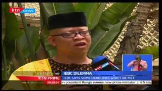 KTN Prime: IEBC Secretariat Says New Timelines Won't Be Plausible, 29/09/2016