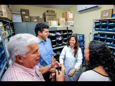 Rui Palmeira reinaugura unidade de saúde do Rosane Collor