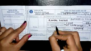 Download Video How to Fill FD Form SBI MP3 3GP MP4