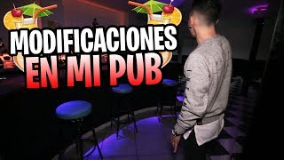 MODIFICACIONES EN MI PUB!! *CLOUDS PUB*
