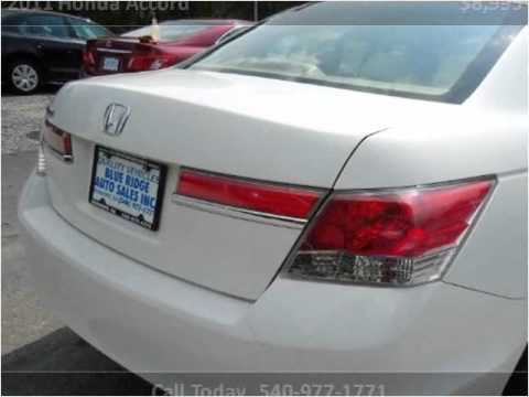 2011 Honda Accord Used Cars Roanoke VA