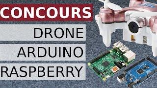 Gagner votre drone, votre Raspberry Pi ou votre Arduino Mega 2560Clique ici pour t'abonner ► https://goo.gl/PkIcj8 (merciLe CX-10W vous pouvez le trouver ici : http://bit.ly/cx10w8BanggoodLe  Raspberry PI B+ vous pouvez le trouver ici : http://bit.ly/raspberri_PiL' Arduino Mega 2560 vous pouvez le trouver ici : http://bit.ly/Arduino_Mega_BanggoodVoici le jeu concours pour gagner un drone CW10W, un mini ordinateur Raspberry PI ou un arduino Mega 2560. Résulat du concours ici : https://www.youtube.com/watch?v=9PqY9CXDqQEPour participer :❶ - Abonne-toi  + like la vidéo ✔❷ - Post un commentaire avec une idée de vidéo réalisable ✔❹ - Pour doubler tes chances de gagner, aime la page Facebook + partage le post du concours qui est sur ma page Facebook  ✔Facebook : https://www.facebook.com/rudyexplor________________________________________________Concours RudyExplor - Janvier 2017DESCRIPTION DU CONCOURSVous pouvez gagner  : 1er lot : un Cheerson CX10W Mini drone Wifi FPV avec radiocommande2ème lot : un Raspberry pi  B+ avec boitier plastique3ème lot : un Arduino mega avec cable USBLe concours commencera le [10/01/17]. Le concours prendra fin le [31/01/17]. L'annonce des gagnants sera faite le [5/02/17] sur [Facebook/Youtube]Pour participer, les participants doivent poster une idée de vidéo réalisable. Le post doit être mentionné sur la vidéo ou sur mon post de concours sur Facebook.INFORMATIONS LÉGALESAUCUN ACHAT OU PAIEMENT D'AUCUNE SORTE N'EST NÉCESSAIRE POUR PARTICIPER OU GAGNER.Ce concours est régi par ce règlement officiel. En participant au concours, chaque participant accepte de suivre les règles officielles qui comprennent tous les critères d'admissibilité. Aucun achat ou paiement d'aucune sorte n'est nécessaire pour participer ou gagner.ADMISSIBILITELe concours est ouvert aux personnes de 18 ans ou plus ou ayant un consentement parental au moment de la participation. Il est indispensable d'avoir un accès internet, un compte Google ou Facebook valide. Nous nous réser