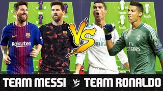 Video Team Messi VS Team Ronaldo - FIFA 18 Experiment MP3, 3GP, MP4, WEBM, AVI, FLV September 2018