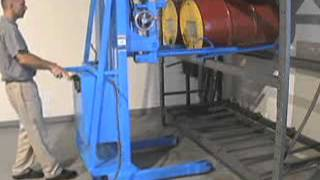 MORStak Drum Rackers - Power Lift and Tilt to Rack Drum up to 8.5 feet high