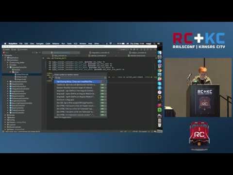 RailsConf 2016 - Power up Your Development with RubyMine by Tatiana Vasilyeva