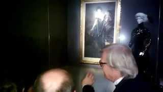Sgarbi in visita a Forlì alla Mostra su Boldini 2457