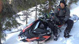 4. Chris Burandt talks to the Sled Junkies about the 2016 Polaris Axys Pro RMK
