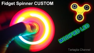Video Fidget Spinner LED RGB - CRAZY STROBE LIGHT - Modified from the original MP3, 3GP, MP4, WEBM, AVI, FLV September 2017