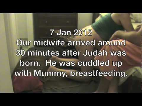 Judah's Gentle Natural Home Birth