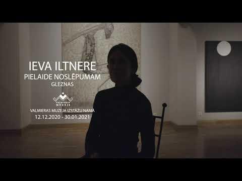 Videosveiciens no mākslinieces Ievas Iltneres