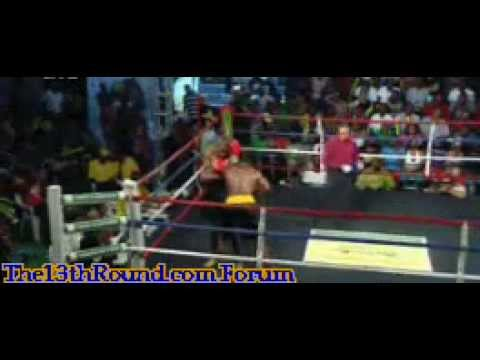The13thRound.com Boxing Forum Russel stopped Hylton The Contender Jamaica Season 5