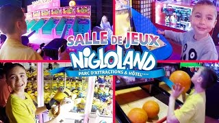 Video VLOG - Après-midi Fun à la Salle de Jeux de NIGLOLAND MP3, 3GP, MP4, WEBM, AVI, FLV September 2017