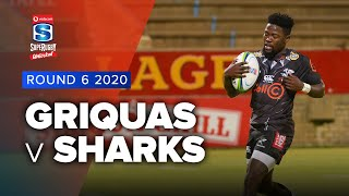 Griquas v Sharks Rd.6 2020 Super rugby unlocked video highlights