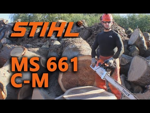 Stihl MS 661 C-M Overview/Review