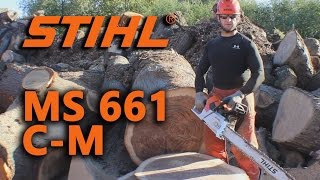 3. Stihl MS 661 C-M Overview/Review