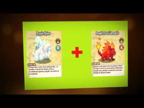 combinaciones dragón city dragon chicle,fresquito y futbolista Julio 2013