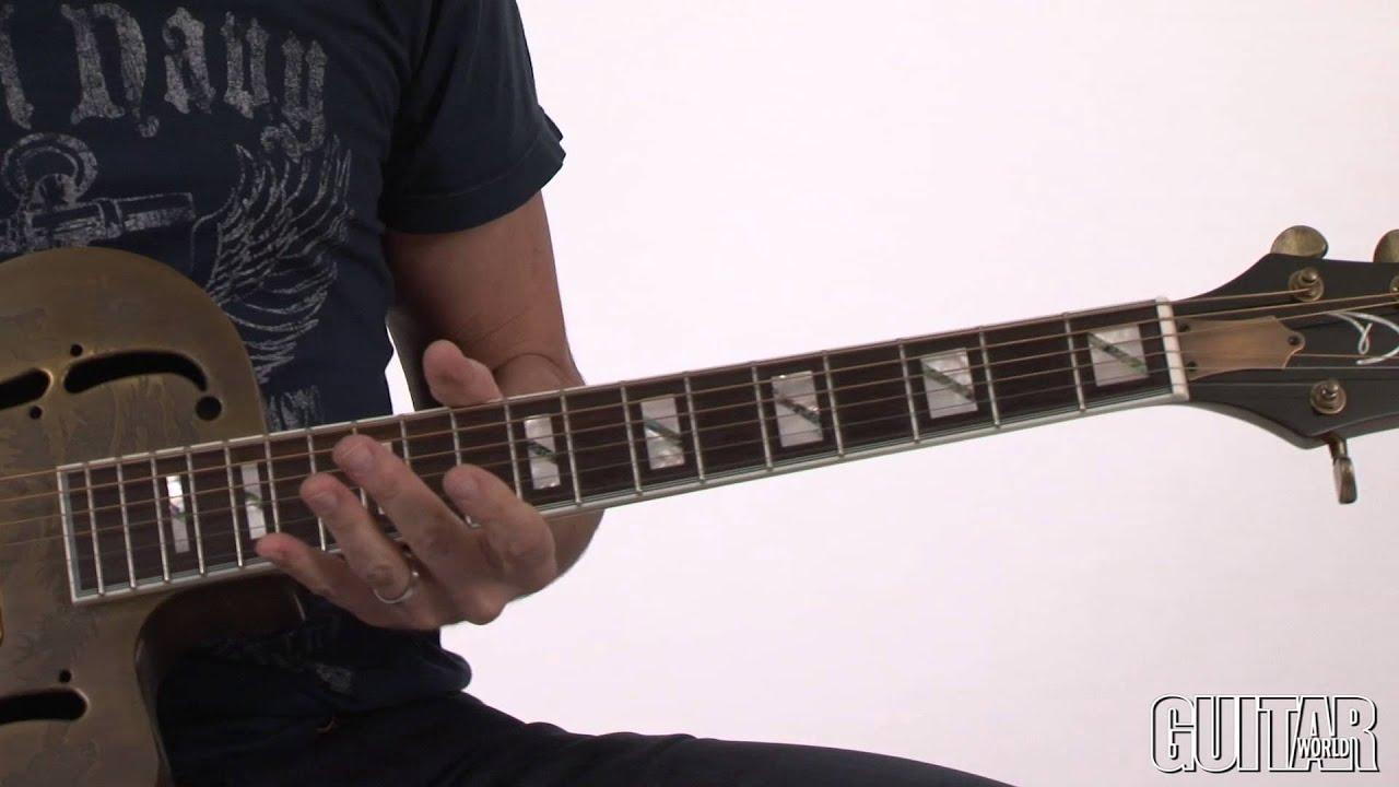 Dean Resonator Thin Body Electric Cutaway Guitar