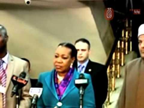بالفيديو.. رئيسة أفريقيا الوسطى تحرج السيسي: جئت لزيارة الأزهر أولًا