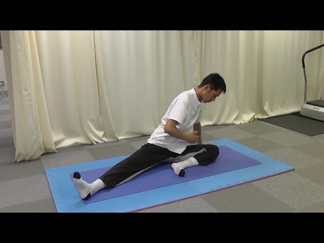【セルフケア動画】坐骨神経痛の痛みには お尻まわりの筋肉をストレッチ