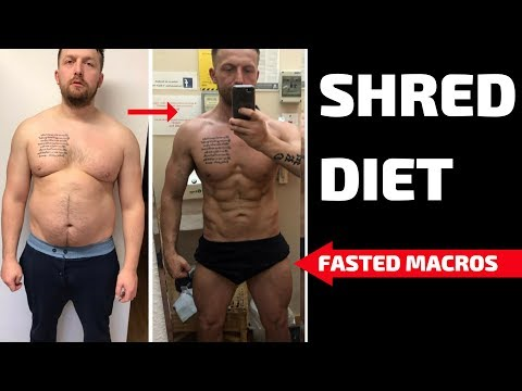 GET SHREDDED FAST DIET  FASTED MACROS  SION MONTY