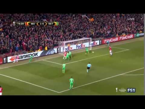 Zlatan Ibrahimovic Goal 2:0 manchester United - St.Etienne