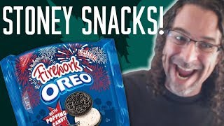 STONEY SNACKS: SOUNDRONE TRIES FIREWORK OREOS by Soundrone