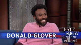 Video Donald Glover Meets The Girl Scout Who Went Viral With 'Redbone' MP3, 3GP, MP4, WEBM, AVI, FLV Juli 2018